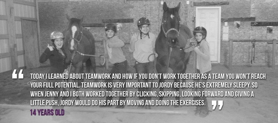 equine connection youth programs calgary